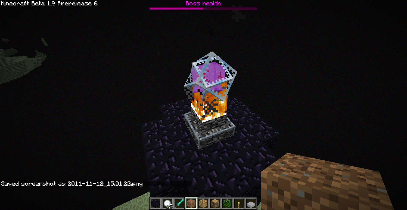 Файл:Спаунер Enderdragon.png - Playzone: Minecraft