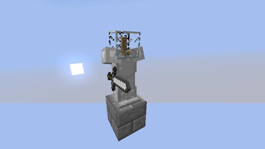 Файл:Стойка для брони с мечом.png - Playzone: Minecraft