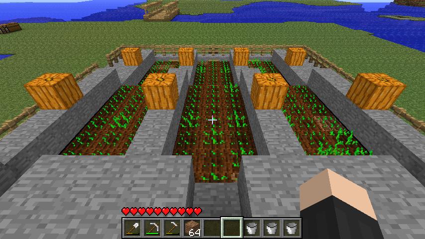 как приготовить пшеницу майнкрафт #7