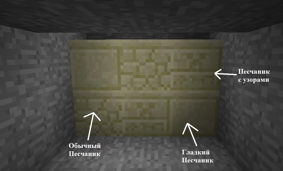 Как сделать песчаный кирпич в майнкрафт