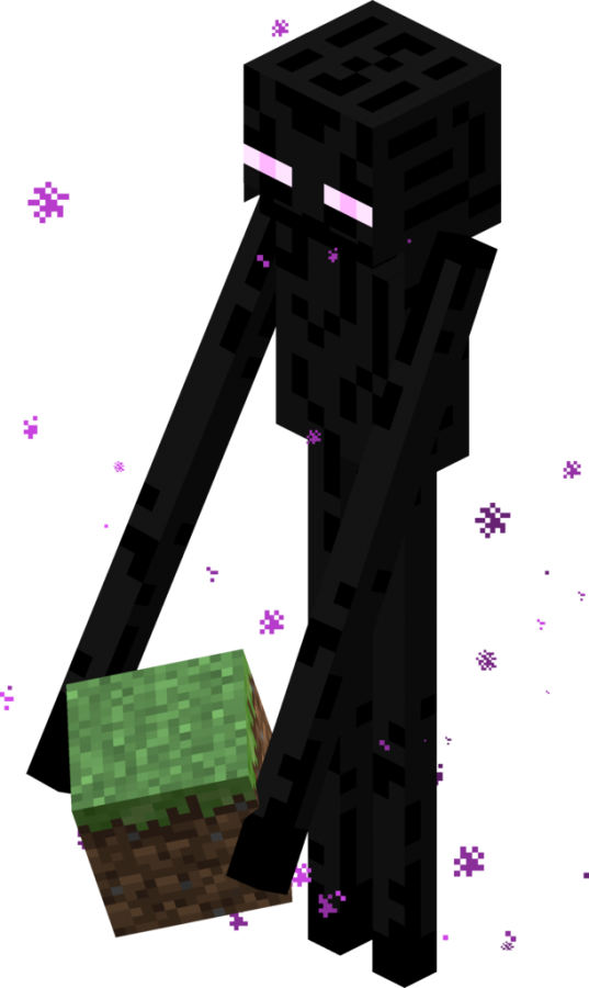 Файл:Enderman Block.png - Playzone: Minecraft